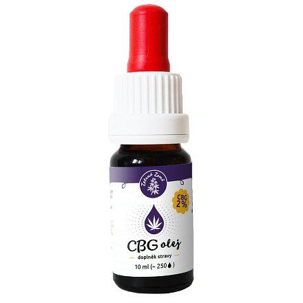 CBG konopný olej 2%, 10 ml