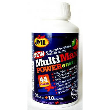 JML MultiMax Power Energy tablety 100 x 44 slož.vitamín