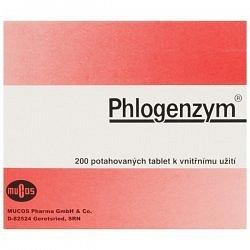 Phlogenzym Magensaftresistente tablety potažené 200