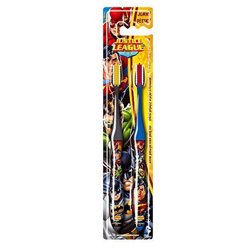 VitalCare DUO zubní kartáček s krytkou  Batman a Superman