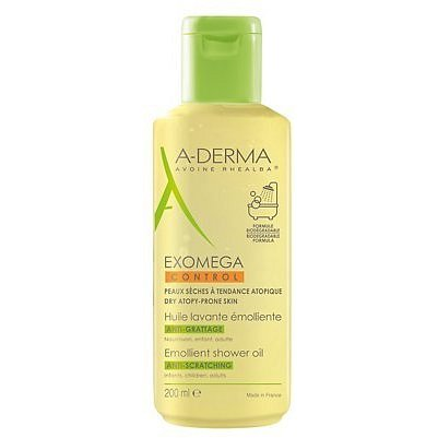 A-DERMA Exomega CONTROL Emol.sprchový olej 200ml