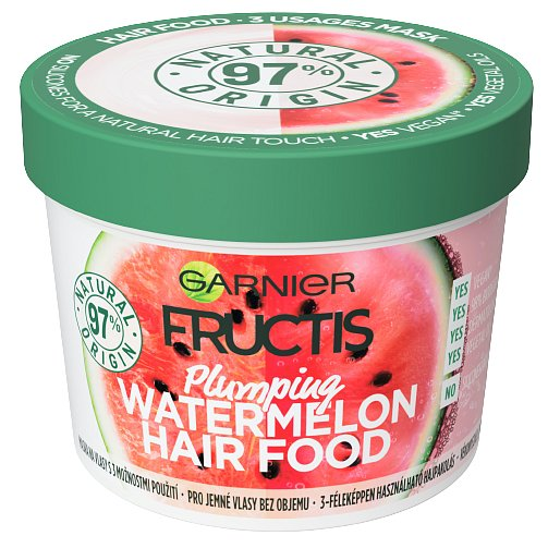 Garnier Fructis Hair Food Mask Plumping Watermelon 390ml
