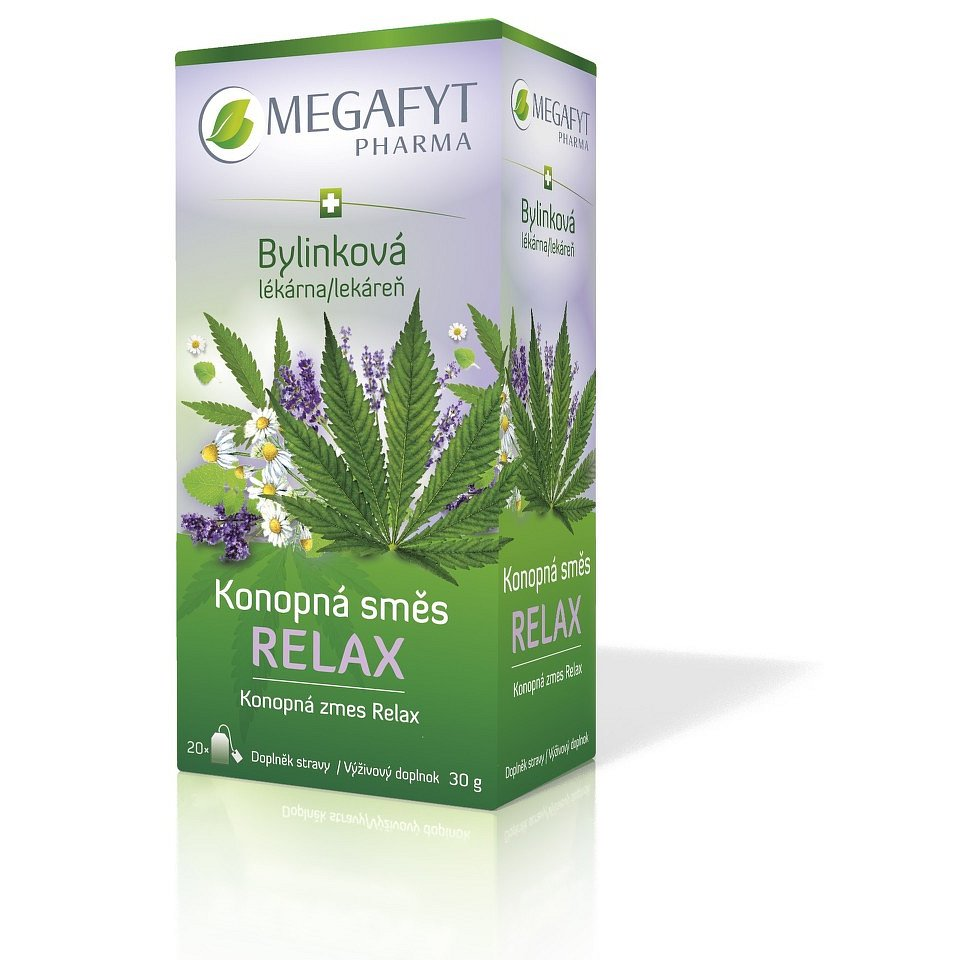 Megafyt Konopná směs Relax 20x1.5g