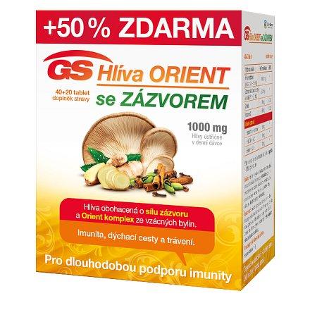 GS Hlíva Orient se zázvorem tbl. 40+20