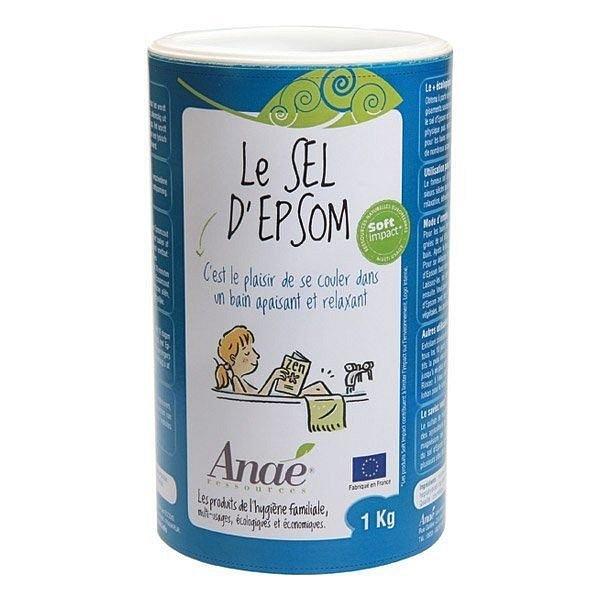 Anaé by Ecodis Epsomská sůl dóza 1 kg