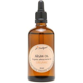 Dr. Feelgood BIO and RAW kosmetický arganový olej na tvář, tělo a vlasy  100 ml