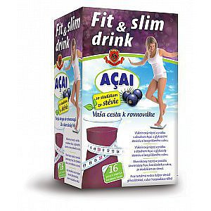HERBEX FIT & SLIM DRINK ACAI 16x6 g