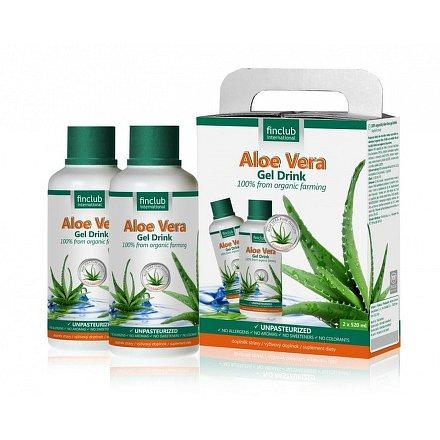 Aloe Vera gel drink 100% organický 2x520 ml