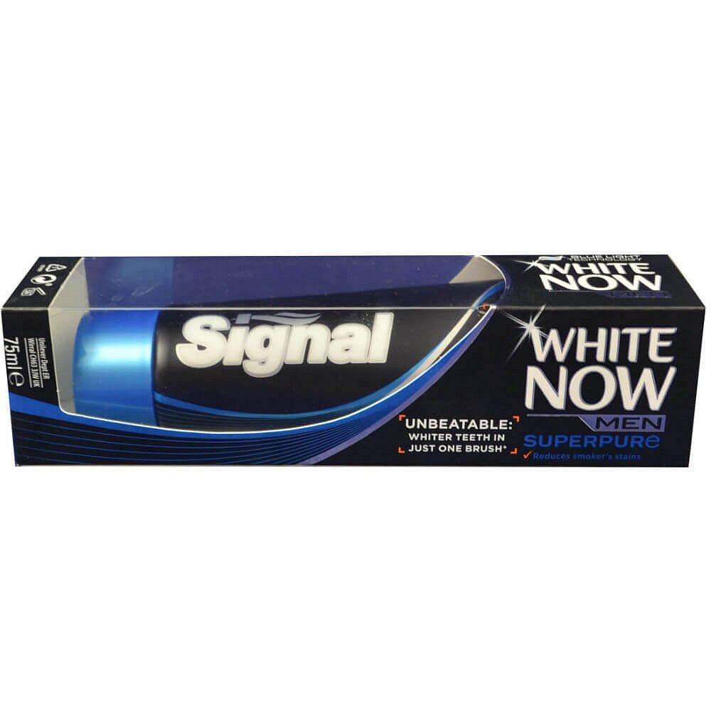 SIGNAL White Now Men Super Pure zubní pasta 75 ml