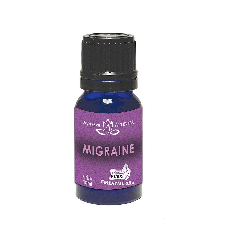Altevita Esenciální olej směs Migréna 100% 10ml