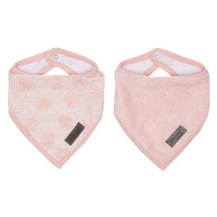 Bandana slintáček Bébé-jou Fabulous Blush Pink 2ks
