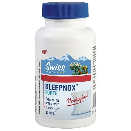 Swiss SLEEPNOX FORTE orální tobolky 30