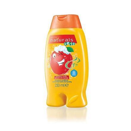 Avon Šampon a kondicionér s jablkem Naturals kids 250 ml
