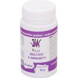 Body Wraps Pills Multivit&Immunity 30tbl.