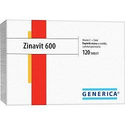 Generica Zinavit 600 žvýkací tablet y 120 ks