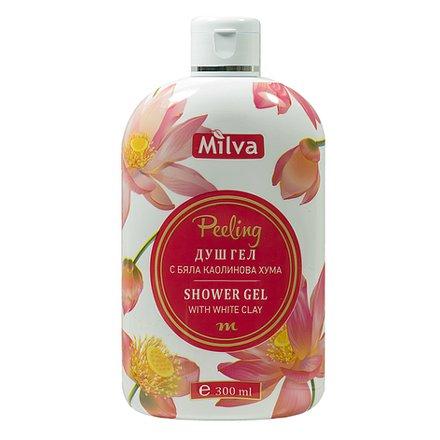 Milva Sprchový gel peeling 300 ml