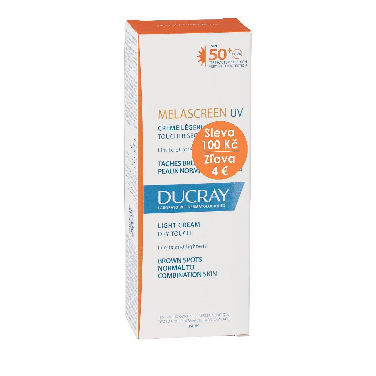 Ducray Melascreen Lehký krém SPF50+ 40 ml