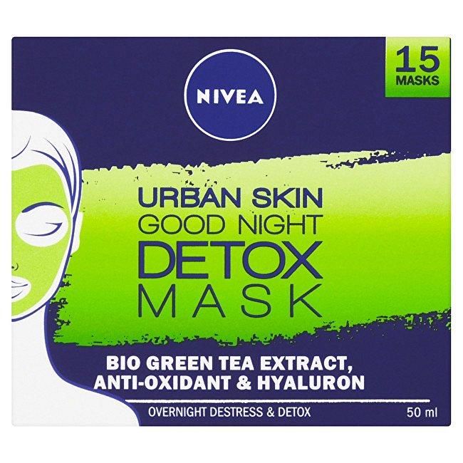 Nivea Noční detoxikační maska Urban Skin  50 ml