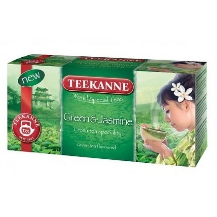 TEE World Special Teas Green&Jasmin 20x1.75g