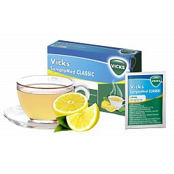 Vicks SymptoMed Complete citrón 14 sáčků