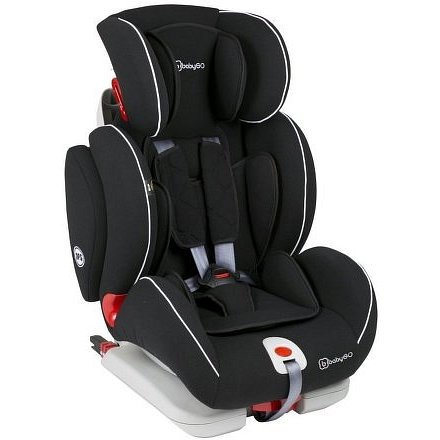 BabyGo autosedačka SIRA Isofix I-II-III Black