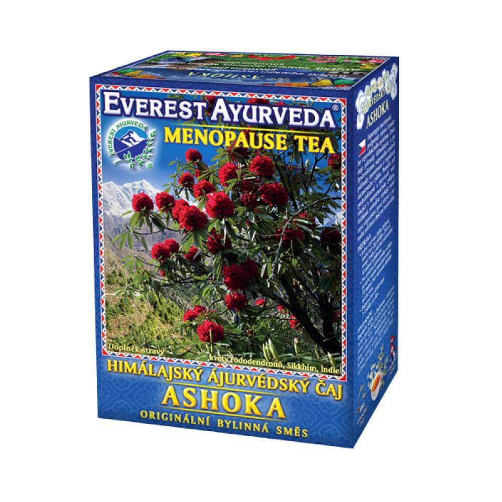 EVEREST-AYURVEDA ASHOKA Klimakterium & hormonální rovnováha 100 g sypaného čaje