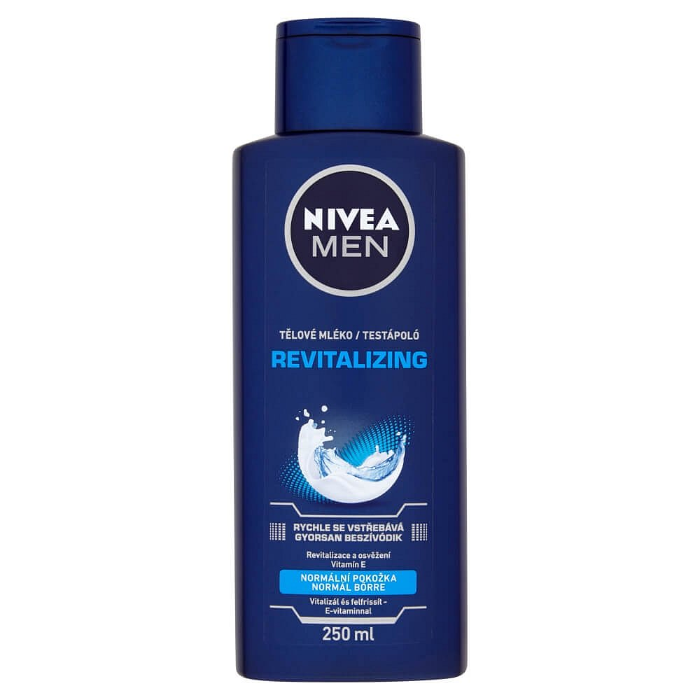 NIVEA tělové mléko pro muže, 250 ml