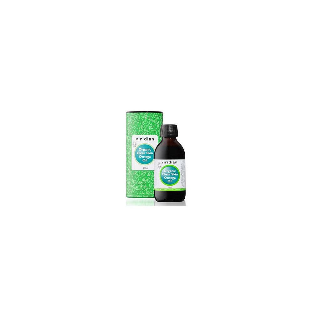 VIRIDIAN Nutrition Organic Clear Skin Omega Oil 200 ml