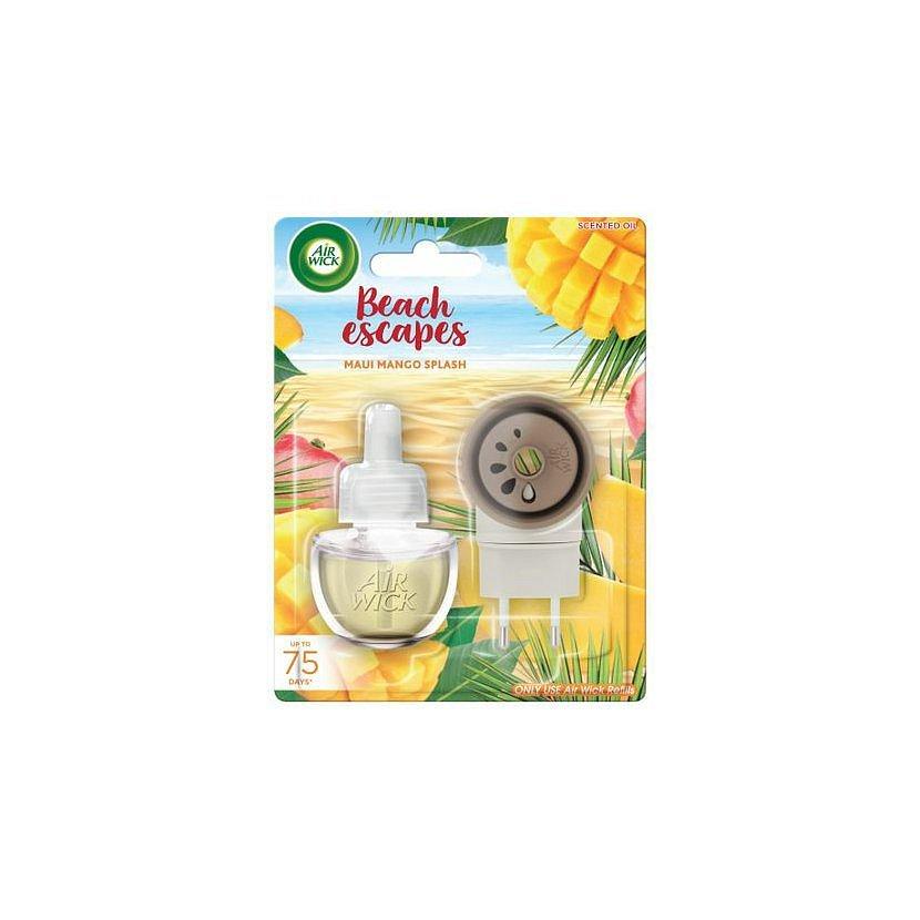 Air Wick elektrický osvěžovač vzduchu - strojek a náplň - Maui mangové šplíchnutí 19 ml