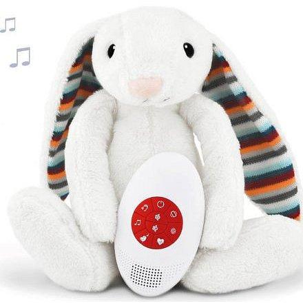 ZAZU Králíček BIBI - Šumící zvířátko s tlukotem srdce a melodiemi