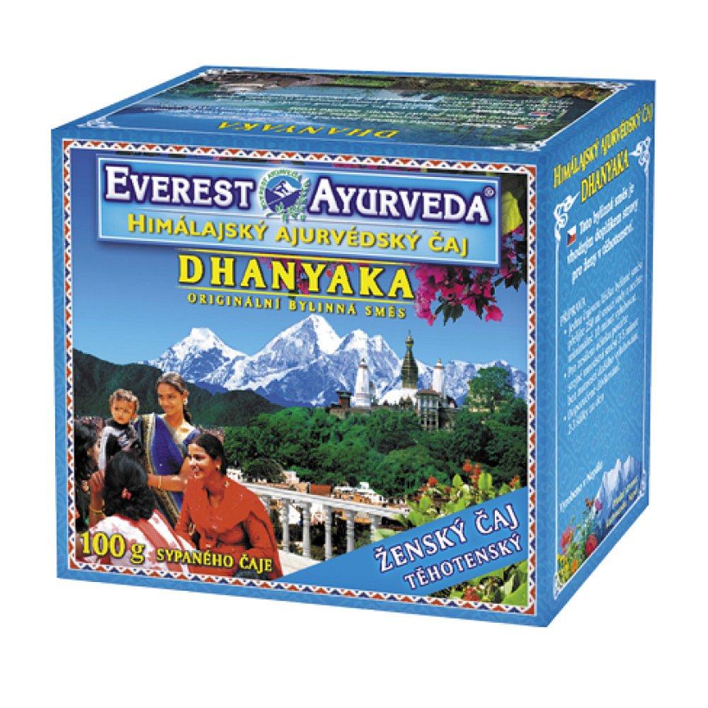 EVEREST-AYURVEDA DHANYAKA Těhotné ženy 100 g sypaného čaje