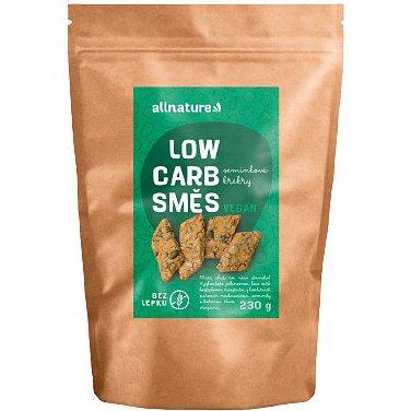 Allnature Low carb směs na semínkové krekry 230g