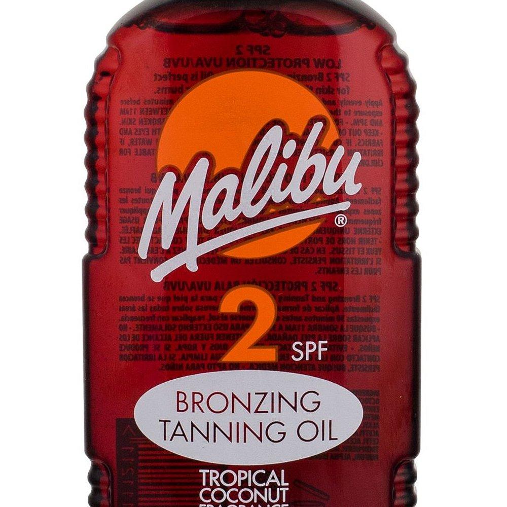 MALIBU Bronzing Tanning Oil SPF2 Opalovací přípravek na tělo 200 ml