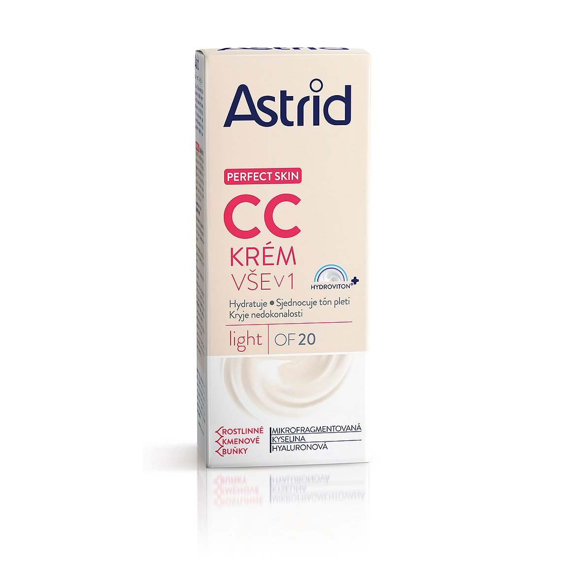 Astrid Perfect Skin CC krém vše v 1 OF 20 light, 40 ml