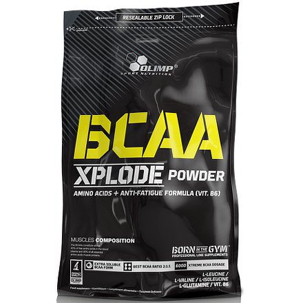 BCAA Xplode, Olimp, 1000 g, Fruit Punch