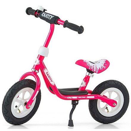 """Dětské odrážedlo kolo Milly Mally Dusty pink 10"""""""