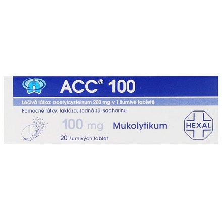 Acc 100 NEO perorální tablety šumivé 20 x 100 mg