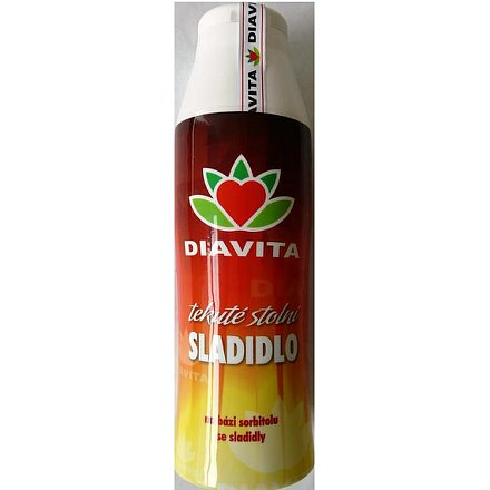 DIAVITA tekuté sladidlo na bázi D-glucitolu 283 g