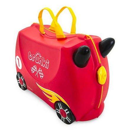 Kufřík + odrážedlo závodní auto Rocco