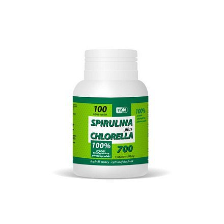 Spirulina Plus Chlorella tablety 100