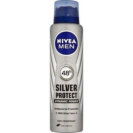 NIVEA Deo muži SILVER PROTECT sprej AP 150ml 82959