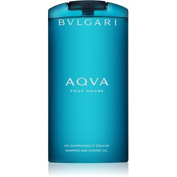 Bvlgari AQVA Pour Homme sprchový gel pro muže 200 ml