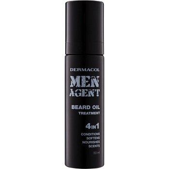 Dermacol Men Agent pečujicí olej na vousy 4 v 1  50 ml