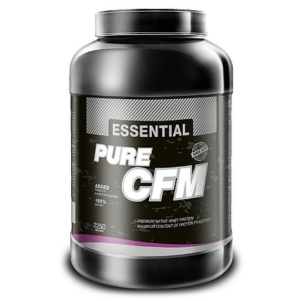 Essential Pure CFM 80 100% whey protein - 2250g vanilka