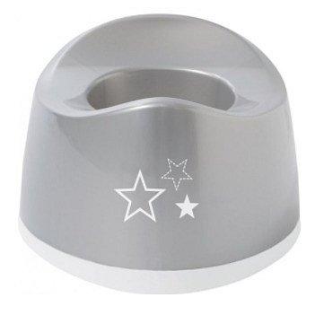 Nočník oválný Bébé-Jou Silver Stars