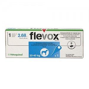 FLEVOX pro středně velké psy (20-40kg) 1x 2,68ml