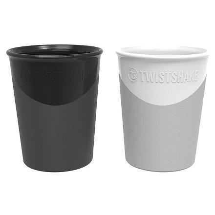 Kelímek 2x 170ml 6+m Černá a bílá