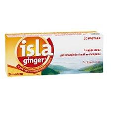 Isla Ginger tablety 30 bylinné pastilky
