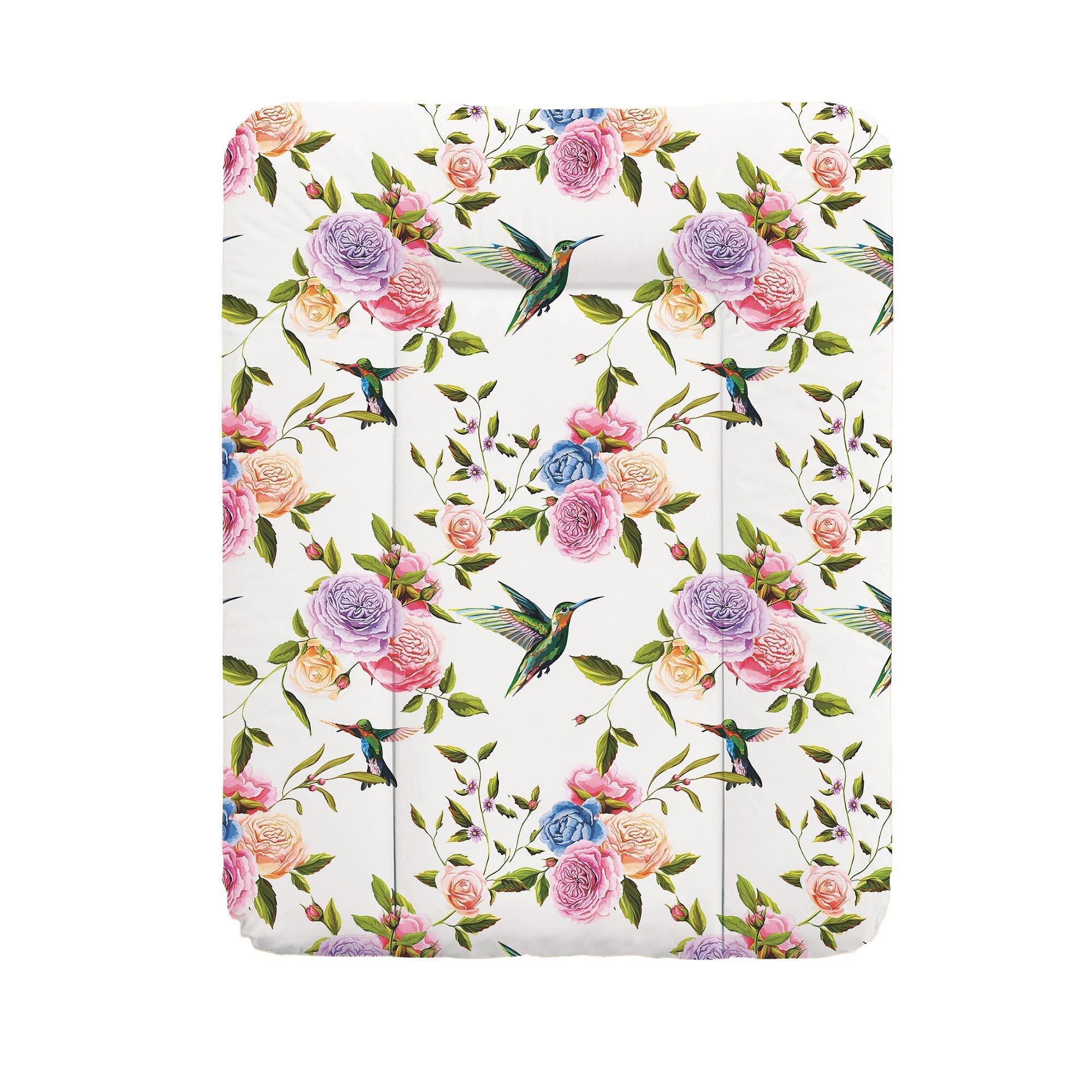 CEBA Podložka přebalovací na komodu 50 x 70 cm Flora & Fauna Flores