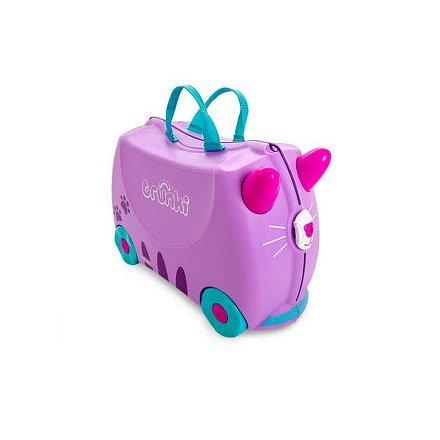 Kufřík + odrážedlo kočička Cassie